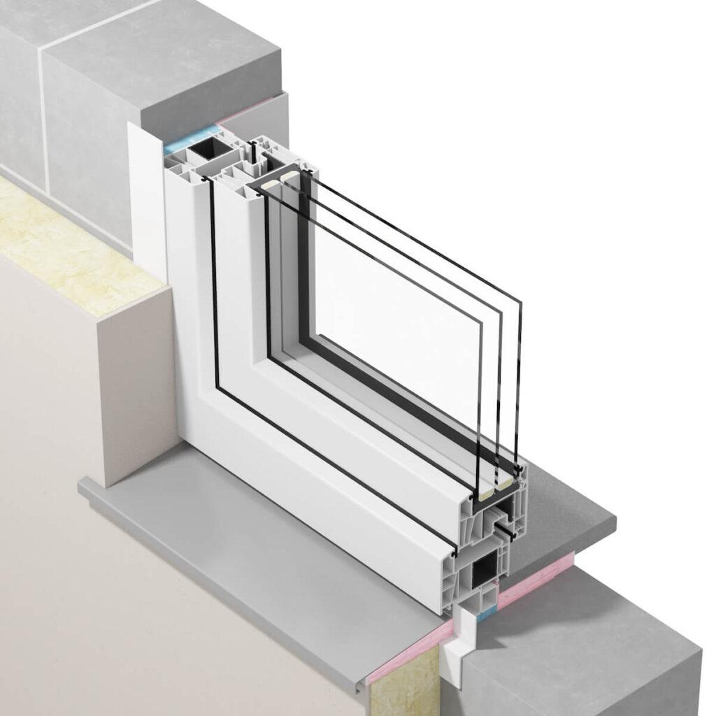 Uszczelnienie paroprzepuszczalne okna przy ciepłym montażu okien