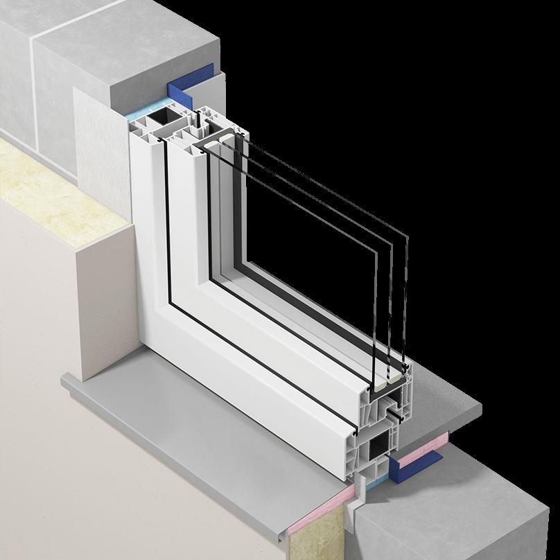 Szczelny montaż okien zzastosowaniem płynnych membran