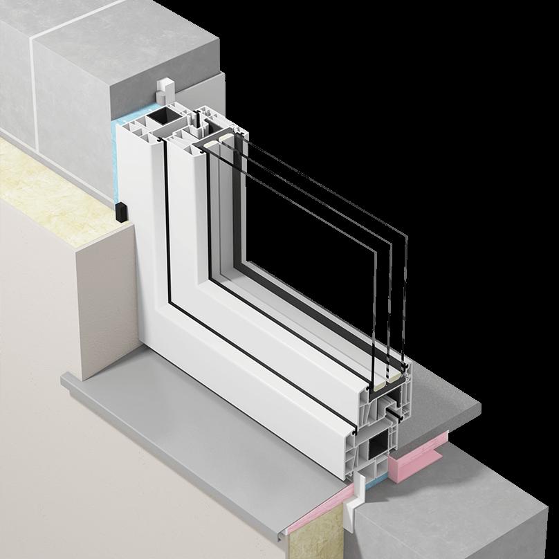 Szczelny montaż okien zzastosowaniem uszczelnienia mieszanego