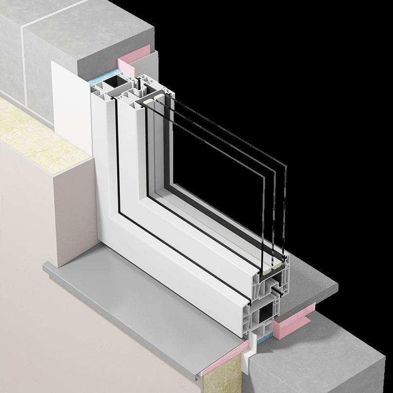Szczelny montaż okien zzastosowaniem taśm paroizolacyjnych