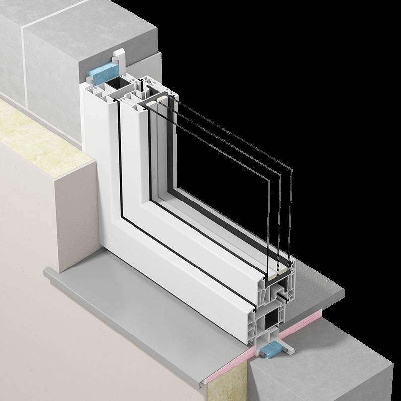 Szczelny montaż okien zzastosowaniem mas uszczelniających